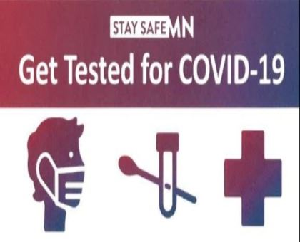Get Tested for COVID 19 Clip Art
